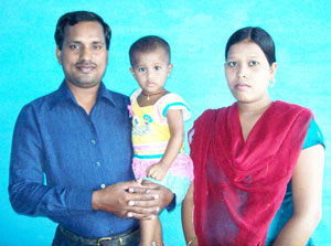 Dinesh and his family